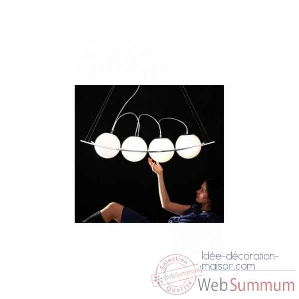 Lampe a suspension river Delorm Design