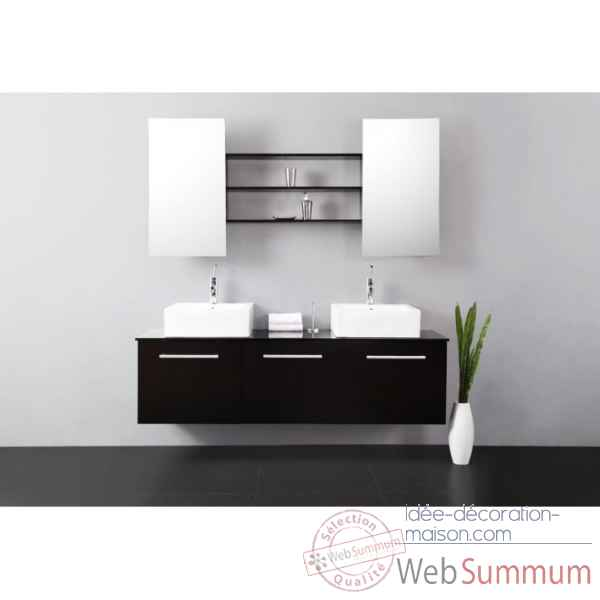 Meuble de salle de bain tiga delorm design dans d coration for Meuble salle de bain maison