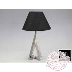 apollo lampe metal 36cm Edelweiss -C7887