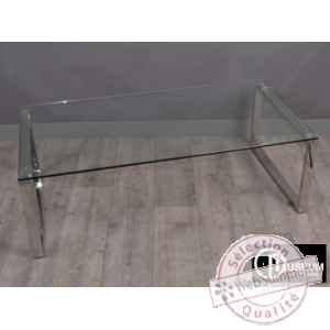 table basse 120x60x41cm Edelweiss -C7551
