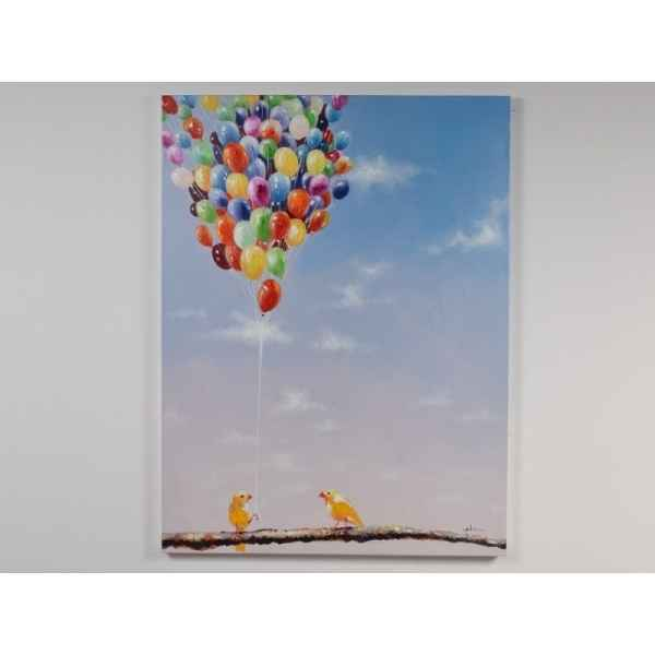 Toile ballons 90x120cm Edelweiss -C6919