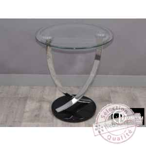 trend console ronde Edelweiss -C7724