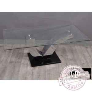 vogue table basse rect, Edelweiss -C7708