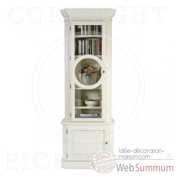Eichholtz cabinet chambery left vieille finition blanc -cab03319