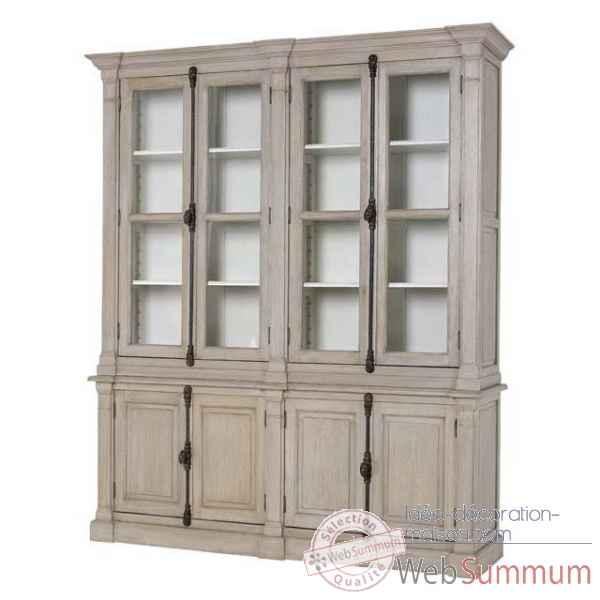 eichholtz cabinet st germain blanc su dois cab05622 dans. Black Bedroom Furniture Sets. Home Design Ideas