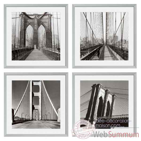 Cadre ec193 new york bridges s/4 Eichholtz -06547