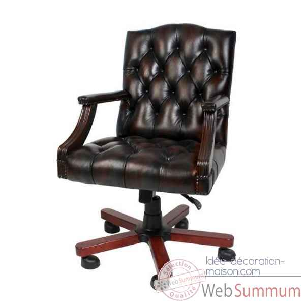 Chaise de bureau gainsborough eichholtz -103974u