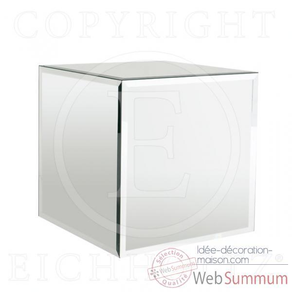Eichholtz cube miroir square miroir acc04431 photos for Cube miroir habitat