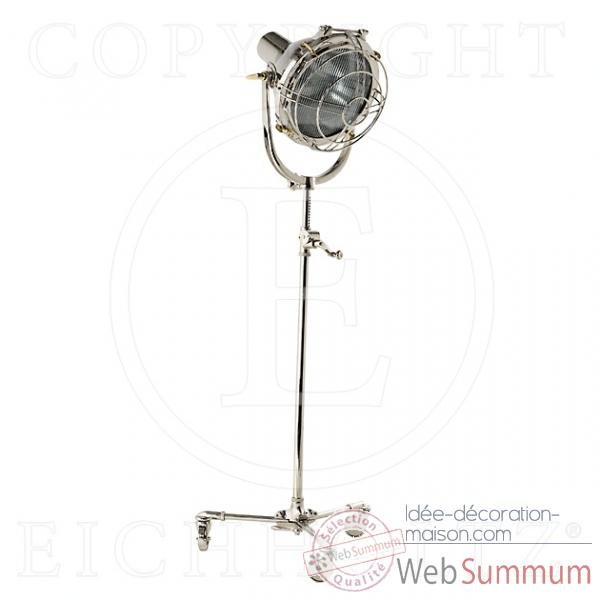 Eichholtz lampe air command nickel -lig05590
