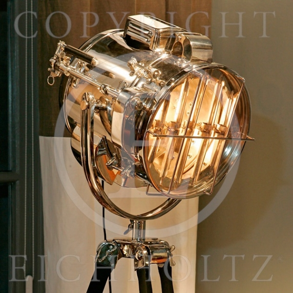 Eichholtz lampe atlantic en nickel -lig04423