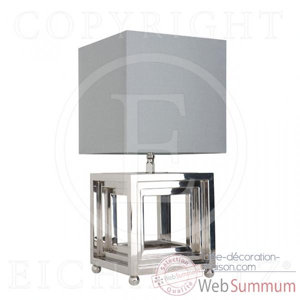 Eichholtz lampe bellagio nickel -lig05484