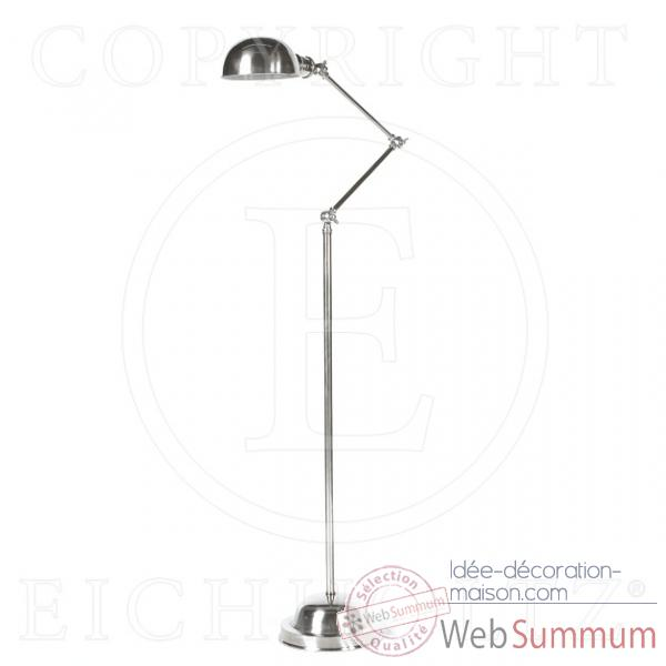 Eichholtz lampe floor soho  nickel -lig01487