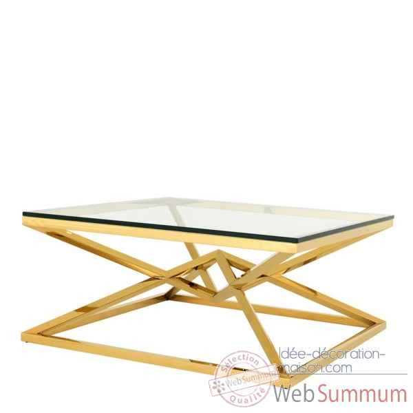 Table basse connor doree Eichholtz -109875