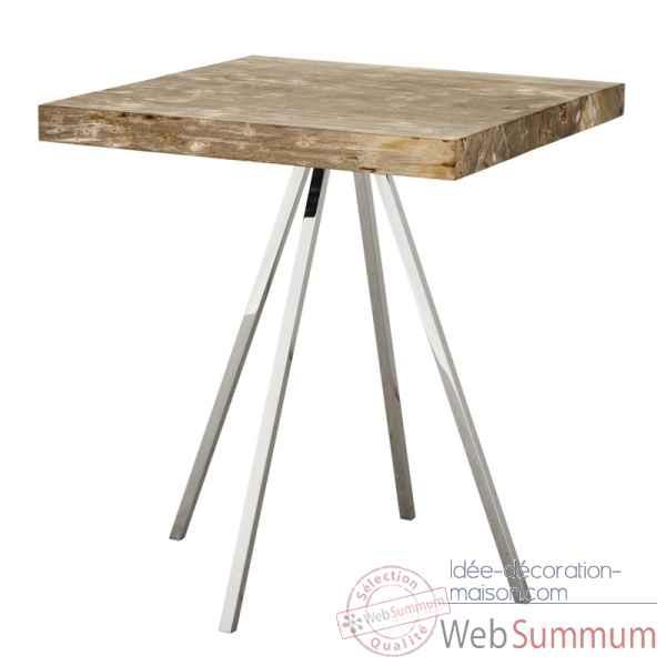 table basse le dauphin 95 cm en r sineux verre tremp. Black Bedroom Furniture Sets. Home Design Ideas