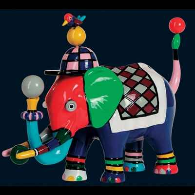 Elephant Elephantbird Art in the City - 83307
