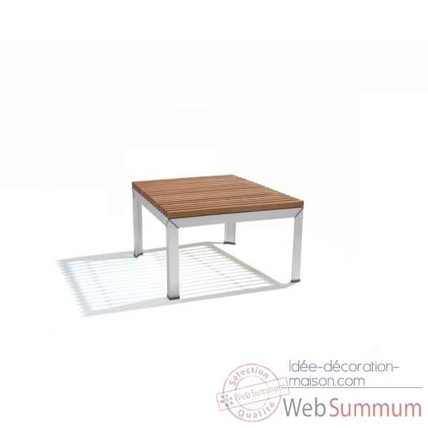 Table basse extempore, carree 80, fscpur Extremis -ETV080-45 FSC