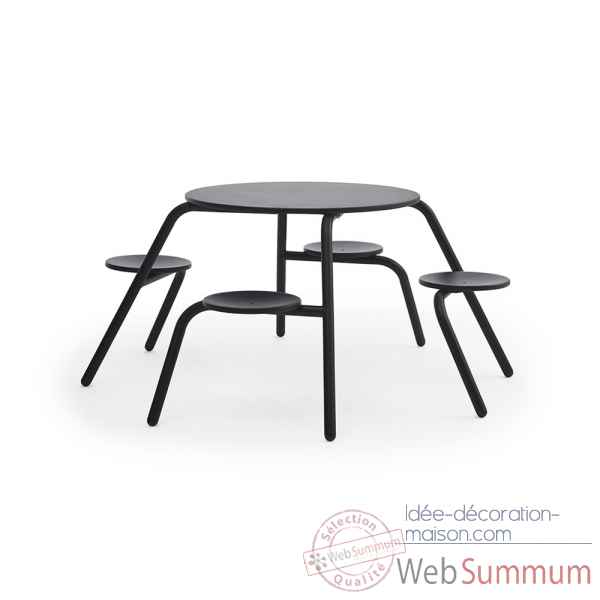 Table Virus 4 places interieur Extremis -virus-4pl-int