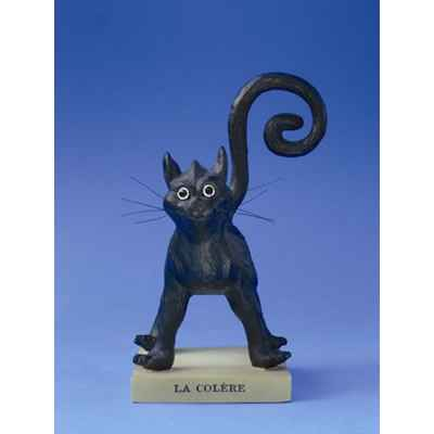Figurine Chat - Le Chat Domestique - La Colere - CD03