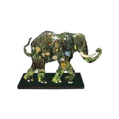 Figurine Elephant Tusk Jungle Tusk -TU13043