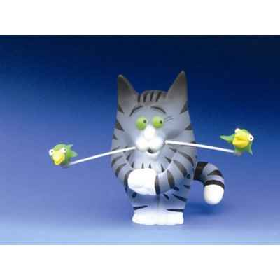 Figurine Chat - Felin pour l\'autre - Charly Becfin - FF02