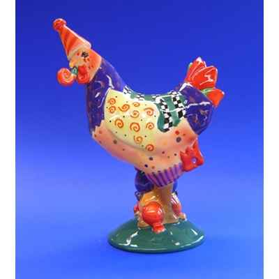 Figurine Coq - Poultry in Motion - Hen Party - PM16210