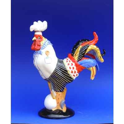 Figurine Coq - Poultry in Motion - Bakins et Eggs - PM16218
