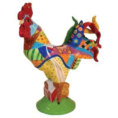 Figurine Coq Country Poultry in motion -PM16713