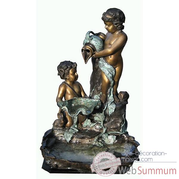 Fontaine Vasque en bronze -BRZ1086