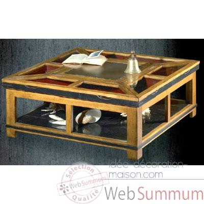 Table a Pavois, epoque 19eme - 100 x 40 x 100 cm - CA003