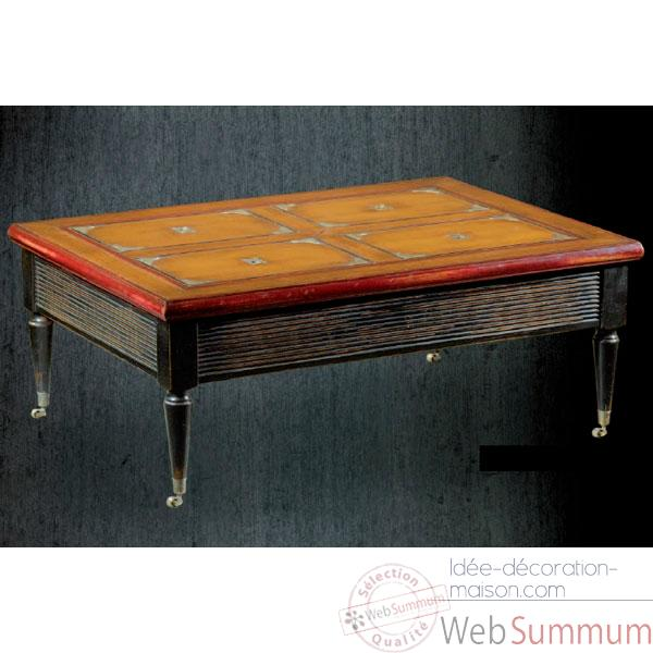 Table Royal Navy, epoque 19eme, 110 x 40 x 80 cm - RN-601
