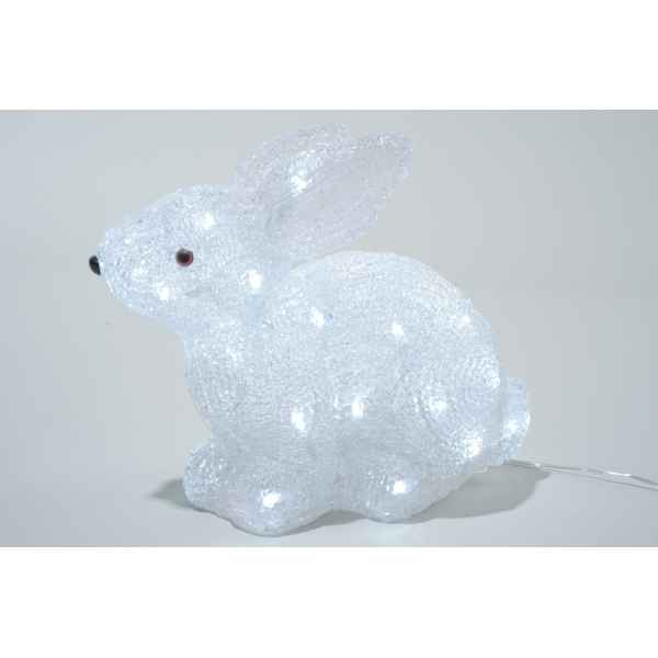 Led lapin acrylique Kaemingk -492053