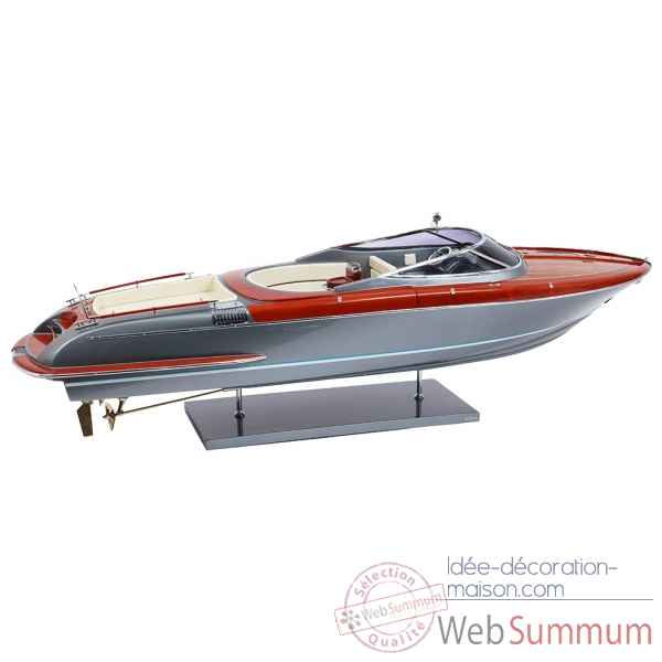 Maquette Riva aquariva 84 grey shark hull 1:12 -R AQUARIVA 84 GS