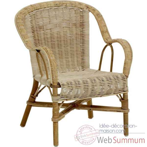 Ensemble 6 fauteuils enfant Grand Pere - naturel KOK 975