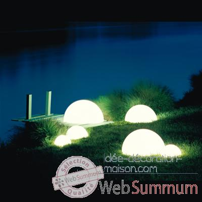 Lampe demi-lune Terracota socle a enfouir Moonlight -hmbgsltrr3500554