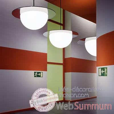 Lampe ronde a suspendre Day Color Moonlight -dlc750110
