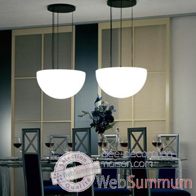 Lampe ronde a suspendre gres sable Moonlight -mlhslssr550.011053