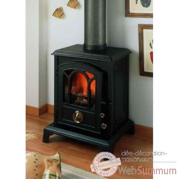 Po le bois dans chemin e foyer babecue sur id e d coration maison - Le marquier cheminee ...