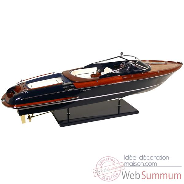 Video Maquette Runabout Italien Riva Aquariva 25 Licence Officielle RIVA