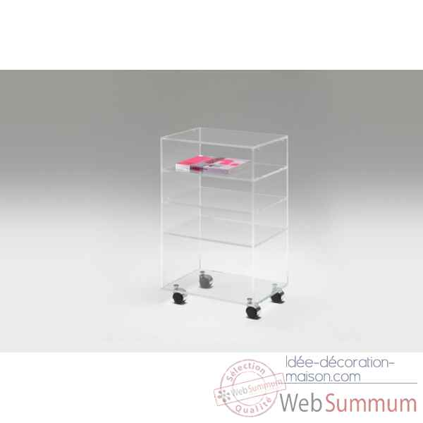 Meuble multifonction en plexiglas Marais International -MT64