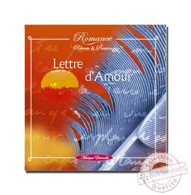 CD - Lettre d'amour - ref. supprimee - Romance