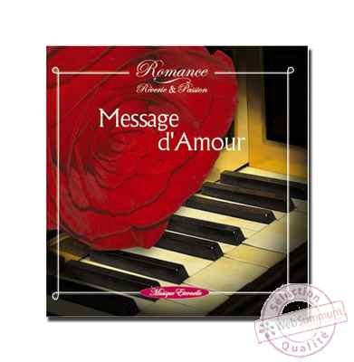 CD - Message d'amour - Romance