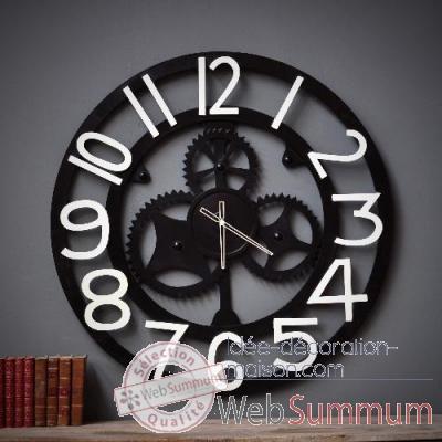 Horloge Géante Objet De Curiosité -Da122 Dans Horloge Décors Marin