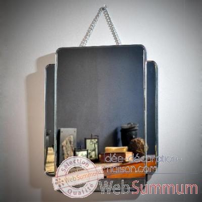 Miroir biseaut avec chaine objet de curiosit mr013 dans for Site idee deco maison