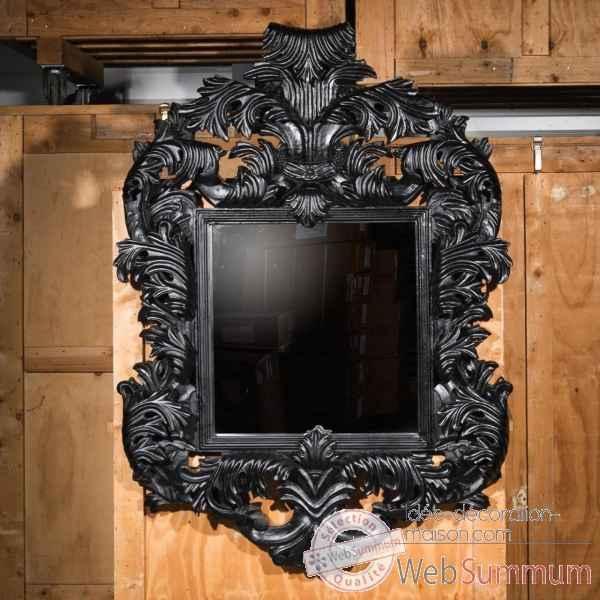 Miroir magistral sculpte objet de curiosite mr028