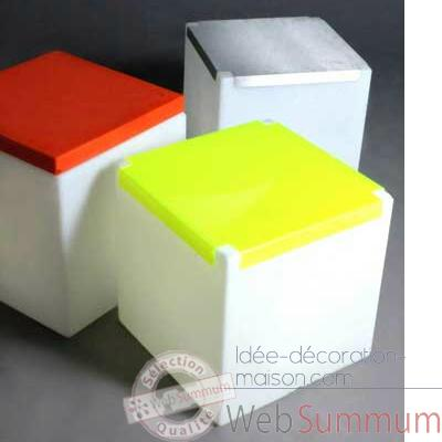 Cube design Kubo Plexi orange Slide - LP CUP041