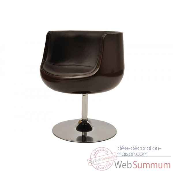 Fauteuil coque choco Opjet