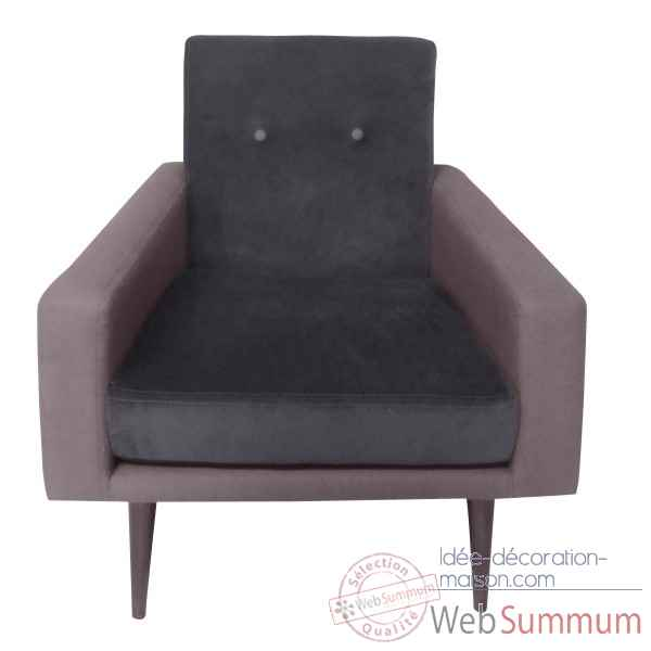 Fauteuil kennedy chocolat Opjet