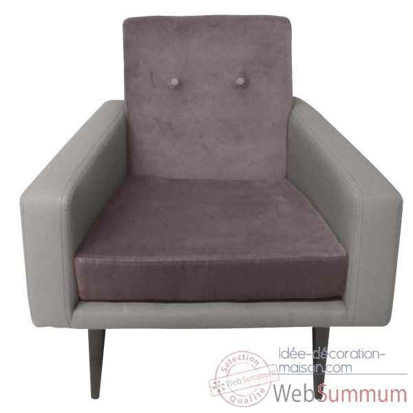 Fauteuil kennedy taupe Opjet