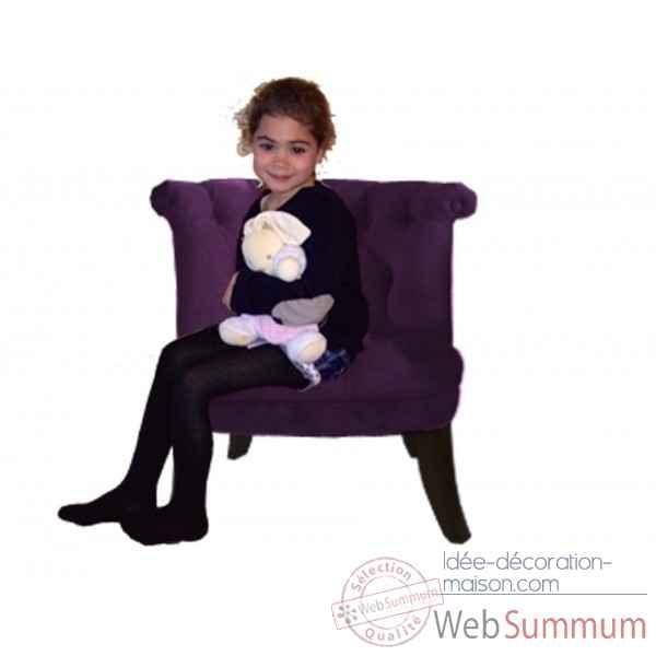 chaise rocaille prune opjet sur id e d coration maison fauteuil club vintage havane opjet. Black Bedroom Furniture Sets. Home Design Ideas
