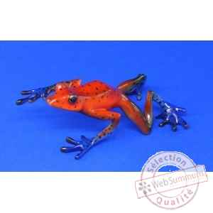 Figurine grenouille - strawberry frog  - bf06